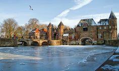 De koppelpoort, in de winter van 2012 | Leusder-Kwartier, Amersfoort, Utrech