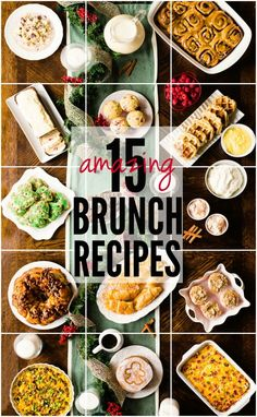 15 Amazing Christmas Brunch Recipes | therecipecritic.com