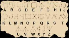 Pagan by Design: Pagan Alphabets.  Malachim