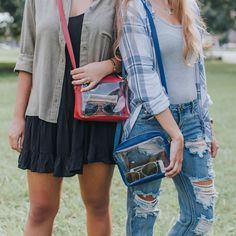Game Day Style: clear bags by Flying Fox