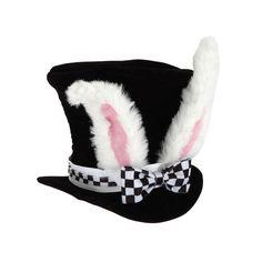 Disney Alice In Wonderland White Rabbit Costume Hat - Kids, Kids Unisex