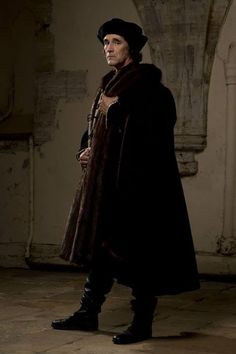 "The brilliant Mark Rylance as Thomas Cromwell in the BBC's Wolf Hall. First episode was beautifully shot - looked like an old Dutch Master had painted each scene. A slow paced introduction, but I expect it will build to become a ""must-watch"", thrilling series. Sold around the world apparently."