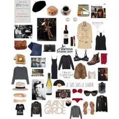 How to be Parisian wherever you are by valentinaforte on Polyvore featuring Joseph, A.P.C., TIBI, Each X Other, Lanvin, Burberry, Yves Saint Laurent, Levi's, The Row and L'Agent By Agent Provocateur