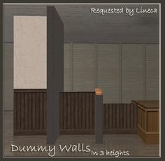 SIMS 2 - [OBJECTS] Dummy Walls for Sims2 - Downloads - BlackPearlSims