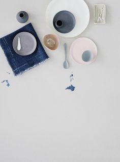 Pastels by Gitte Kjaer - via Coco Lapine Design