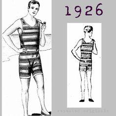 Para Mujeres Disfraz década de 1920 bañista Victoriano Disfraz Traje de Baño Traje de Baño