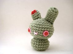 Moon's Creations Halloween Amigurumi Bunnies - Zombie