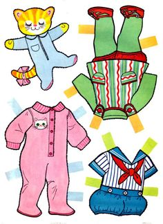 Bundle of Love* 1500 free paper dolls at Arielle Gabriels The International Paper Doll Society also at The China Adventures of Arielle Gabriel free China paper dolls *