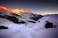 Mischabelgruppe, Saas Fee - Switzerland, by J. Vile, Saas Fee, Berg, Switzerland, Circuit, Landscape Photography, Mount Everest, Skiing, Mountains