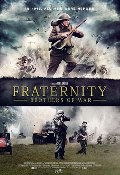 The official international poster for FRATERNITY: BROTHERS OF WAR. Mike Carter's directorial debut. The launched at AFM 2014 in Santa Monica, California. #fraternity #epicpictures
