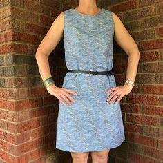 Final #memademay17 post! The first @sewoveritlondon #ultimateshiftdress I made. Got my first compliment on a me-made in this dress last summer. This month has been great for inspiration and I've added many new patterns to my to-sew list.  at you #lododress #lunapants #farrowdress #cleoskirt #pearlshift Thank you @sozoblog for hosting this fun month of sewing! ✂️ ✂️ ✂️ #mmmay17 #sewersgonnasew #sewistsofinstagram #needanewpose…