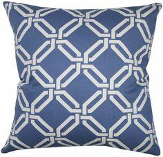 "Joy, Daiquiri 16""x16"" decorative throw pillow from www.tonicliving.com"