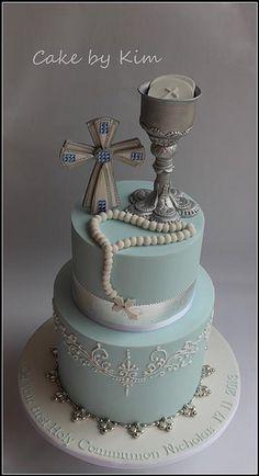 holy communion cake   Flickr - Photo Sharing!