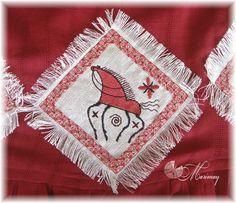 Сделано руками и... головой:): Красное платье
