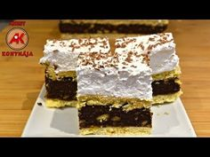 Kata szelet / Anzsy konyhája - YouTube Food And Drink, The Creator, Make It Yourself, Youtube, Dios, Hungary, Youtubers, Youtube Movies