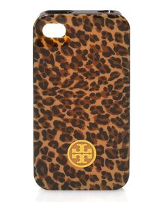Love Leopard. Love Tory. Love my iPhone. Need a new case. Enough said.