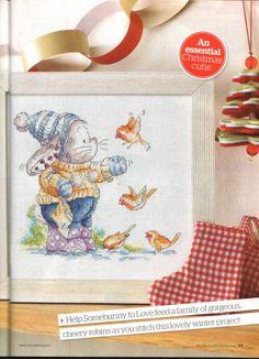 Gallery.ru / Фото #8 - The world of cross stitching 183+приложение Christmas cards - tymannost
