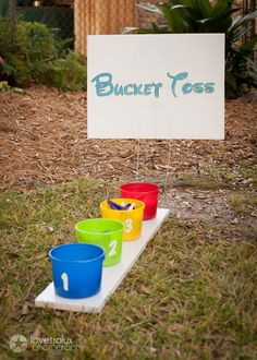 Mickey Mouse Clubhouse Birthday Party games! See more party ideas at CatchMyParty.com!