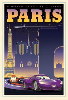 Paris by Eric Tan for Disney Studio Art