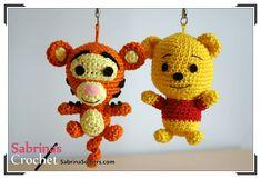 Tigger - Winnie de Pooh - Patron gratis - Amigurumi