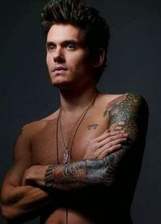 John Mayer tattoos is amazing. John Mayer has made their body a wonderland throughout the years, right after getting inked slowly on his left as well as right arms. These days, we'll be looking at the John Mayer sleeve tattoo in the left arm, a collection of a number of black-and-white and coloured pieces he gathered 2008 and this year.