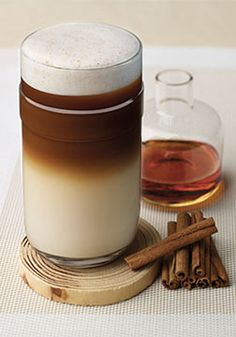Enjoy a trio of bold flavor with this sweet coffee treat. When you get a taste of this Maple Cinnamon Coffee, you'll want to slowly savor the robust flavor of Melozio Grand Cru, maple syrup, and frothy milk hinted with cinnamon and brown sugar. It's the perfect way to enjoy your Nespresso moment this fall.