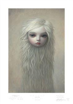 """Fur Girl"" by Mark Ryden"