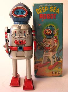 Japan Space Toys - Robots - Vintage Tin Cars ~ Flying Saucers