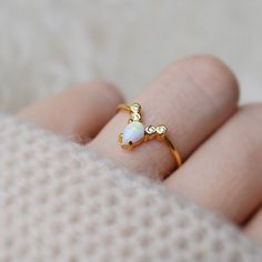 Opal & Diamond La Kaiser for Local Eclectic Exclusive Ring - local eclectic  - 6