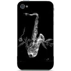 Saxophone Music, iphone 4/4s, 5/5s Cover/Case
