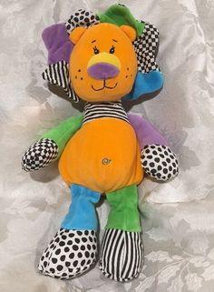 "18"" Baby Ganz Fadoozles Lion Plush Rattle Lovey Stuffed Soft Toy Orange Black | eBay"