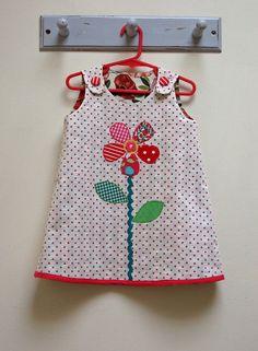 Girl's Dress Pattern Petal Reversible Dress by by FelicityPatterns, $7.95