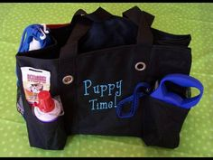 Dog Lover Organizing Utility Tote