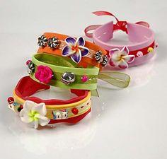 12191 Bracelets made from Foam Rubber