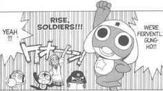 TomatoVision TV: Tokyopop 3 Comedy Manga To Brighten Your Summer July,02,2013 by+Staff Sgt Frog - The age old story of a boy meeting an evil alien frog, Sgt Frog is an internationally loved manga with a twisted sense of comedy and penchant for pop culture references that seems to translate into any language. The story finds the Hinata family trying to co-habitate with a legion of space-frogs bent on world domination