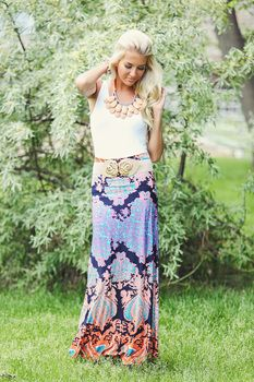 Treasure Island Maxi Skirt Modern Vintage Boutique Modern Vintage Boutique, Long Maxi Skirts, Treasure Island, Skirt Outfits, Dress Skirt, Summer Wardrobe, Pretty Outfits, Cool Outfits, Beaded Lanyards