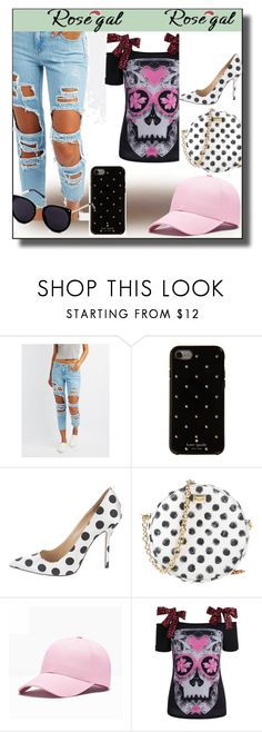 """""""Rosegal"""" by sumeja-147 ❤ liked on Polyvore featuring Cello, Kate Spade, Oscar de la Renta and Dolce&Gabbana"""