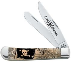 Case knives Case XX Knife Item # 91005P - Trapper - Pirate Series