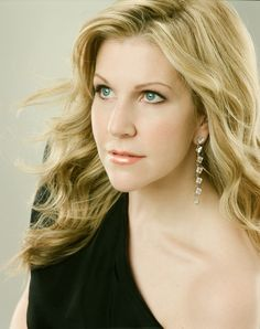 Joyce diDonato, mezzo soprano, and mentor to lots of us who want to know what life as a diva is