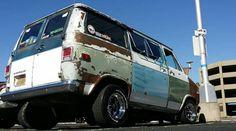 Chevy Vans, Rat Look, Cool Vans, Custom Vans, Vroom Vroom, Wheels, Trucks, Tattoo, Cars