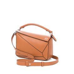 LOEWE Puzzle Small Bag Tan