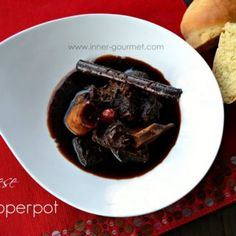 The Inner Gourmet: Pepperpot on Christmas Morning - Guyanese Caribbean Rum, Caribbean Recipes, Carribean Food, Brown Stew Chicken, Cooked Chicken, Guyanese Recipes, Banana Fritters, Chicken Patties, Cheese Rolling