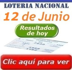 Sorteo Dominical 12 de Junio 2016 Loteria Nacional