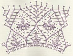 Manton Chal Hojas Malva Patron - Patrones Crochet