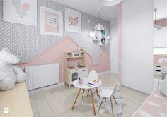 Mieszkanie 54 m przy ulicy Jasielskiej - Średni pokój dziecka dla dziewczynki dla malucha, styl nowoczesny - zdjęcie od Architektownia