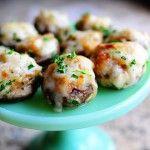 french onion mushrooms