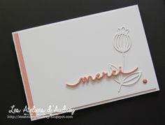 The Audrey Workshops : { Carte de remerciement - thanks card - FMS 234 }