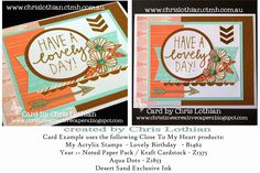 Christine's Creative Capers: National Papercrafting Month - Blog Hop