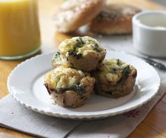 Easy Breakfast Recipe: Kale and Goat Cheese Frittata Cups — Easy Snack Recipes