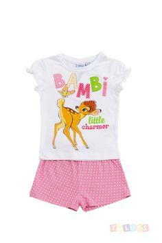 Pyjama Fille Bambi Little Charmer http://www.toluki.com/prod.php?id=392 #Toluki #enfant